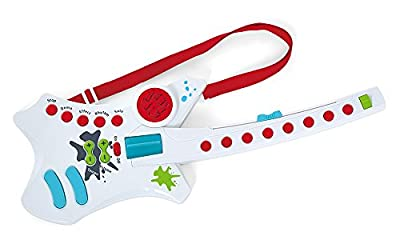 Kidoozie Cool Rockin' Guitar Musical Toy with 7 Built in Songs