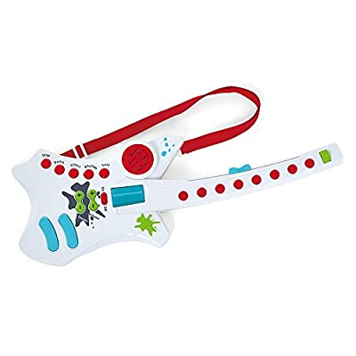 Kidoozie Cool Rockin' Guitar Musical Toy with 7 Built in Songs: Toys & Games