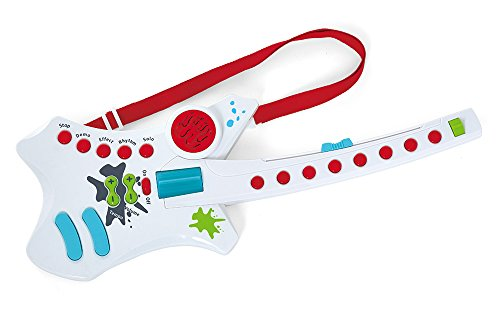 Kidoozie Cool Rockin' Guitar Musical Toy with 7 Built in Songs (Thomas Karaoke And Friends)