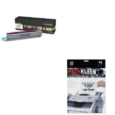 KITLEXX925H2MGREARR1237 - Value Kit - Lexmark X925H2MG High-Yield Toner (LEXX925H2MG) and Read Right PathKleen Printer Roller Cleaner Sheets (REARR1237)