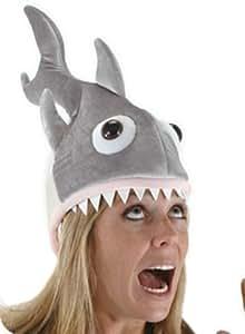 el carnaval Sombrero o Gorro Tiburón  Amazon.es  Juguetes y juegos fd82debbda7