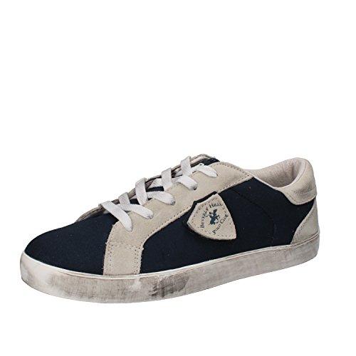 BEVERLY HILLS POLO CLUB Sneakers Bambino 41 EU Blu Tessuto Camoscio