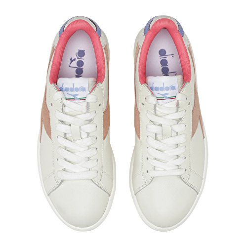 Wide Diadora Sneakers casi Game Apricot Blanco C7404 Mujer Para L rErq6Cw