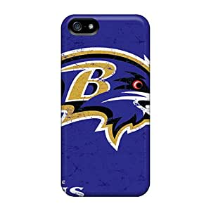 New Rlbennett Super Strong Baltimore Ravens Tpu Case Cover For Iphone 5/5s