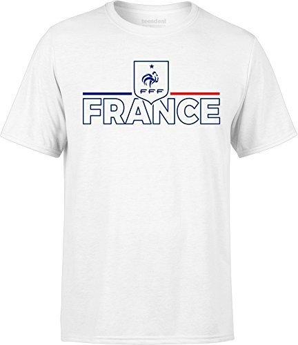 conception adroite économiser jusqu'à 60% choisir véritable Tshirt FFF Equipe De France Football Graphic Coupe Du Monde ...