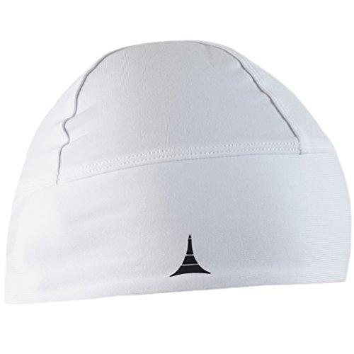 French Fitness Revolution Skull Cap/Helmet Liner/Running Beanie - Ultimate Thermal Retention and Performance Moisture Wicking. Fits under Helmets - Catchers Skull Cap