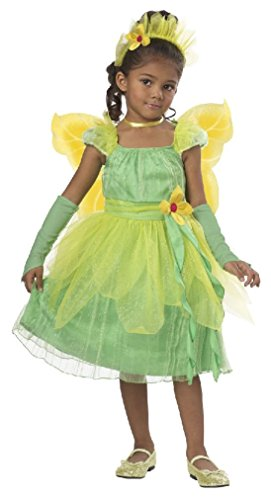 [Fancy Princess Tiana Blossom Fairy Flower Toddler Costume] (Baby Blossom Costume)