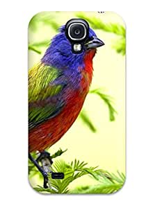 Hot Style TjcNiCS4502cgGyq Protective Case Cover For Galaxys4(bird Animal Bird)