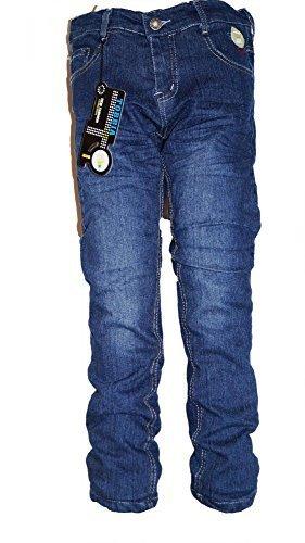 Thermojeans Jungen Thermohose Schneehose gefütterte Jeans warme Hose mit Fleece 98 bis 158