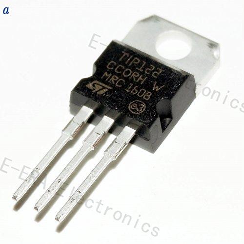 Tech Express 10PCS TIP122 Transistor NPN Darlington, 100V 5A TO-220, By