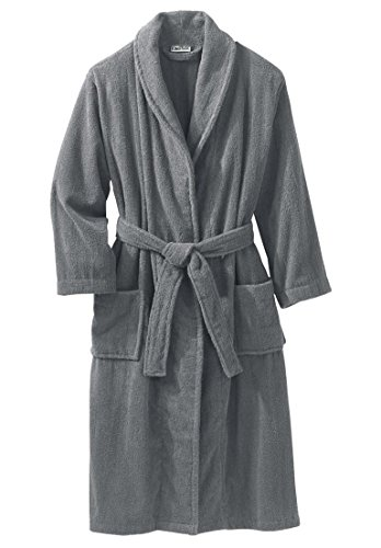 Kingsize Mens Terry Bathrobe Pockets