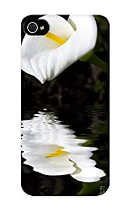 Fwrnbl-1268-buanneu Special Diushoujuan Design Back Lily Reflection Phone Case Cover For Iphone 5/5s