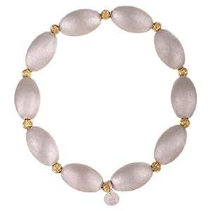 Silvex Women's Beaded Bracelet, Free Size