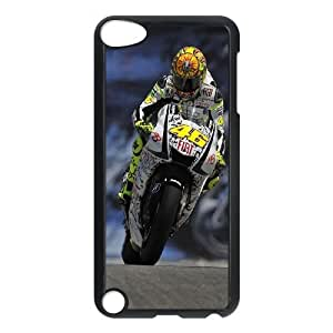 Pattern Hard Case Cover Ipod Touch 5 Cell Phone Case Black Valentino Rossi Eonwf Back Skin Case Shell