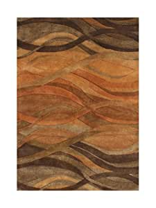 Amazon Com Znz Rugs Gallery 20050 5x8 Hand Made Caramel