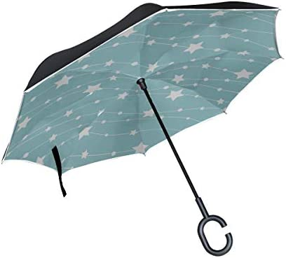 Double Layer Inverted Inverted Umbrella Is Light And Sturdy Niagara Falls Lit Night By Colorful Reverse Umbrella And Windproof Umbrella Edge Night Re