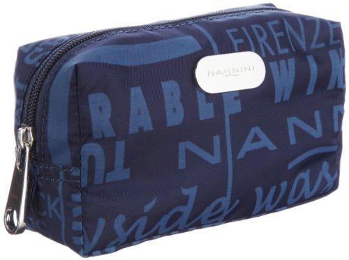 Nannini HP 12PNNA26171, Damen Portemonnaies 15x9x6 cm (B x H x T) Blau (Navy 28)