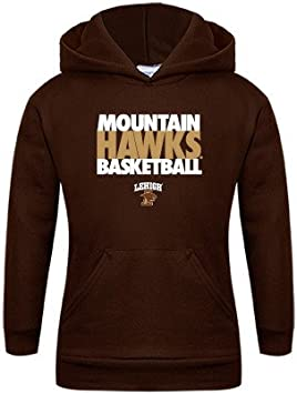 Lehigh Youth Grey Fleece Hood Basketball
