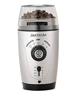 Hamilton Beach 80365 Custom Grind Hands-Free Coffee Grinder, Platinum (B000FBYRMQ) | Amazon price tracker / tracking, Amazon price history charts, Amazon price watches, Amazon price drop alerts