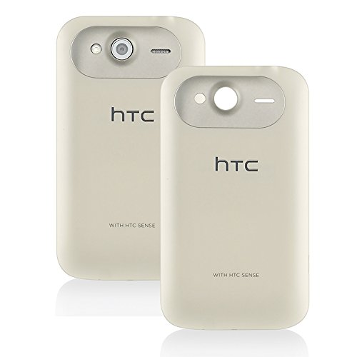 Original Genuine OEM White Back Battery Door Cover Case Backplate Panel Fascia Plate Frame FOR HTC Wildfire S A510E