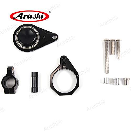 Arashi Steering Damper Stabilizer Bracket Support for SUZUKI GSXR600 GSXR750 2008 2009 2010 Motorcycle Accessories GSX R GSXR 600 750 - Suzuki Gsxr750 Stabilizer