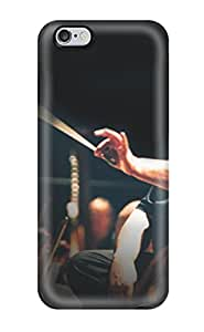 Protective Tpu Case With Fashion Design For Iphone 6 Plus (krzysztof Penderecki Music People Music)