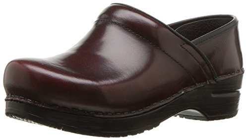 - Sanita Women's Original Cabrio Pro Wide Clog, Bordeaux, 38 EU (7-7.5 US)
