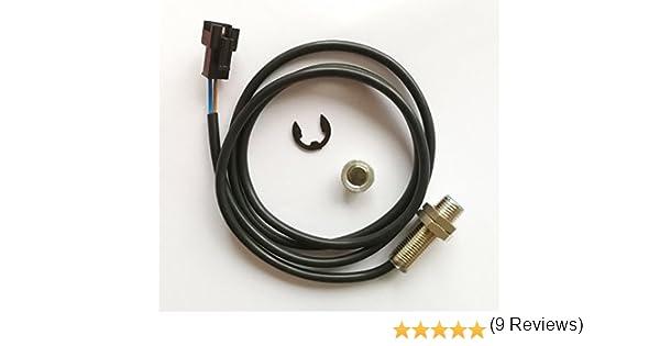 cable de sensor alambre + Imán para LCD digital Cuentakilómetros ...