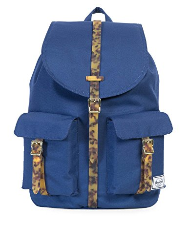 X Rubber Twilight tortoise Dawson Leather Shell Herschel Tan Small Blue Synthetic Peacoat P0ncqx5