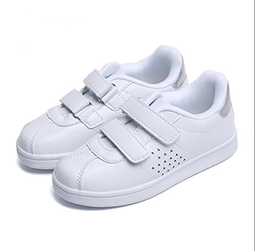 2018 Breathable Cool Children Casual Shoes All Season Sports Running Kids Shoes Excellent Boys Girls Toddlers(White,25/8.5 M US Toddler) - Toddler White Combo Footwear