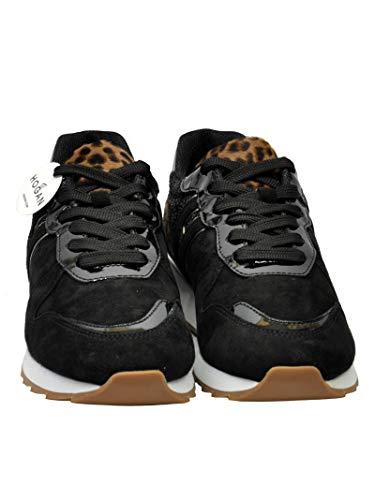 Da Hxw2610y930jh60zz9 Pelle Sneakers Nera Hogan In Donna wIEfIrq