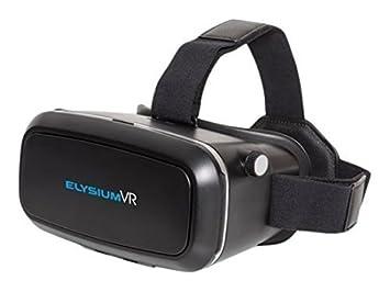GOCLEVER ELYSIUM VR - dispositivos de visualización montados en cascos (Smartphone-based, Negro