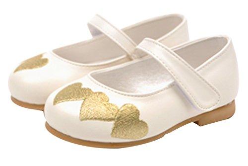 Dress Infant Girls ivory Little Toddler Antiskid Bow Tie Ozkiz Ribbon Flat W208 Shoes 6wx8td7