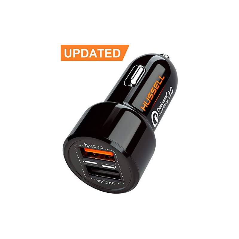 2018 HUSSELL 5.4A 30W Dual USB Car Charg