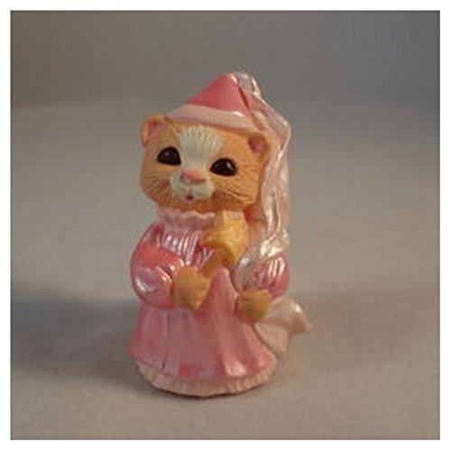 Hallmark Merry Miniature Halloween Cat Dressed as Princess 1993 -