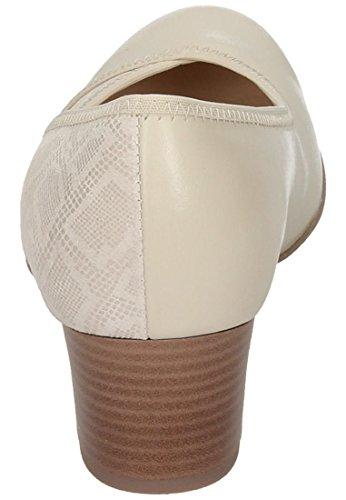 Comode Scarpe Da Donna - H Offwhite 730414-81 Bianco Sporco