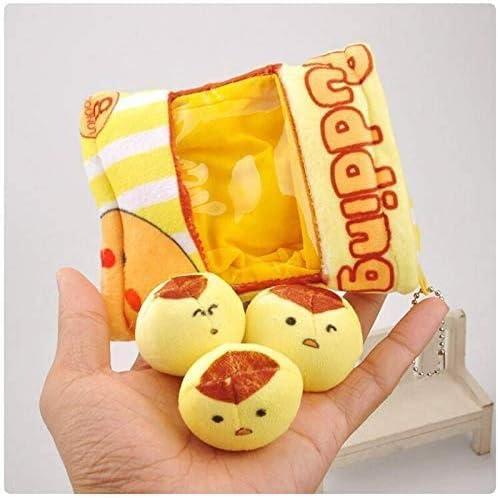 Knuffeldier Cute Snack Cartoon Bag Pluche Toy Mini Pendant Gevulde Pluche Doll Baby Kids Gifts Wo nice