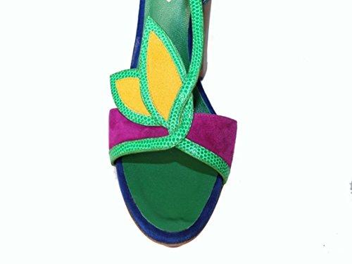 Dsquared Chaussures Multicolore Compensées V303 Femme rTB86rq