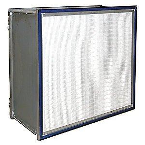 Hospital Grade Microfiber HEPA Air Filter, 24x11-1/2x24 --2GHR3