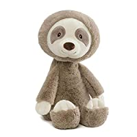 """GUND Baby Baby Toothpick Sloth Stuffed Animal Plush Toy, Taupe 16"""", Multicolor"""