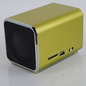 Micro SD/TF Mini Speaker Music Player For Laptop ipod , iPhone 4 4S 5 ,5s