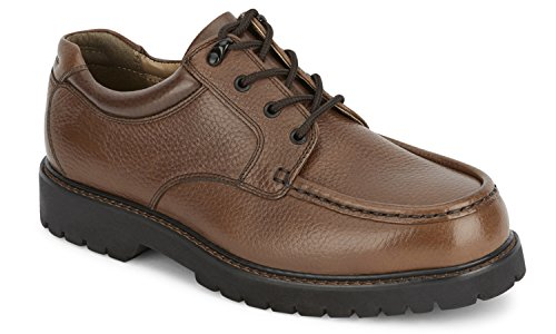 Dockers Men's Glacier Leather Casual Oxford Shoe, Dark Tan, 12 D(M) US (Men Oxfords Casual)