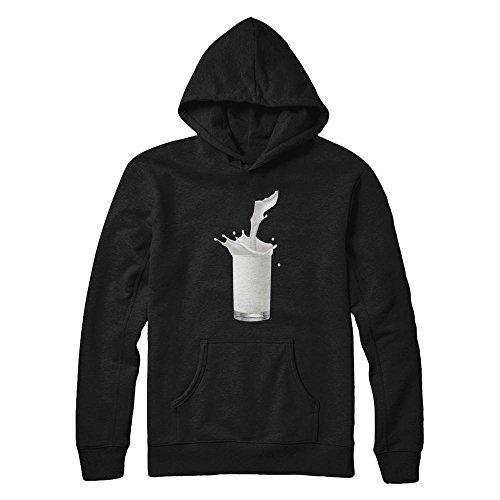 Teely Shop Men's Funny Milk Halloween Costume Gildan - Pullover HOODIE/BLACK/5XL]()