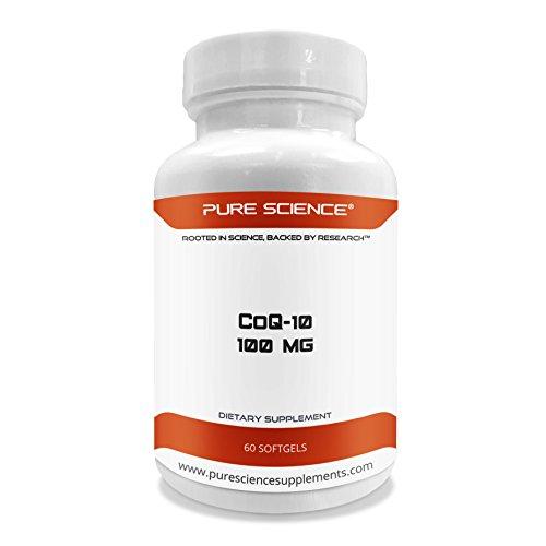 Pure Science Coq10 (Coenzyme q10) - 100mg Softgel