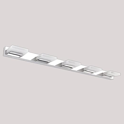 LED Lámpara de espejo, cbjktx lámpara de proyección Espejo Aplique 12 W Baño Baño schminkl