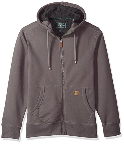 G.H. Bass & Co. Men's Rock Ridge for Hard Service Hoodie, Castle Rock Heather, 2X-Large