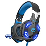 VersionTech Updated Version EACH G2000 3.5mm Pro Stereo Gaming Headset Headphone Headband