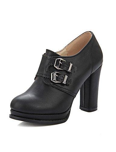 gray nbsp;carrera zapatos 5 de de 5 tacón zapatos de us10 redonda uk8 de GGX amp; de cn43 zapatos punta gray us10 eu35 cn34 uk3 tacón vestido YHUJI eu42 cn43 black us5 5 plataforma hebilla 5 tacón oficina uk8 mujer eu42 a5PfFPq