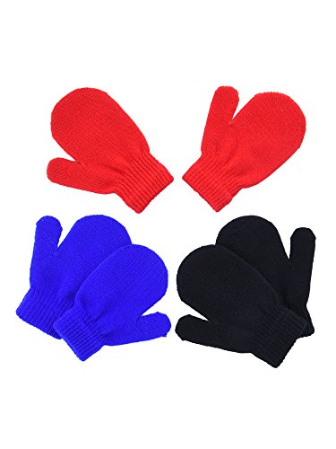 Mudder Gloves Knitted Stretch Infants