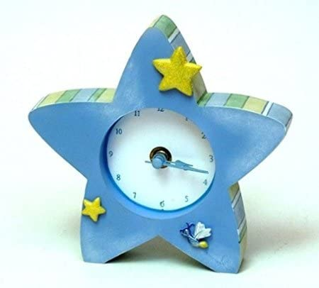 Roman Collection Tender Embrace Blue Star Clock Designed By Gina Freehill Collectibles Gifts Home Decor
